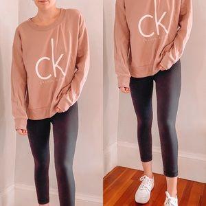 Calvin Klein Baby Pink Sweatshirt